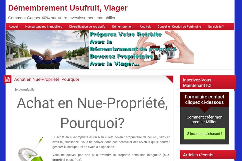 Muriel Trenquier, gestion de Patrimoine