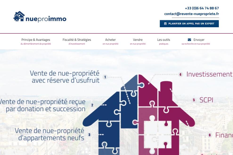 NuePro Immo, gestion de patrimoine