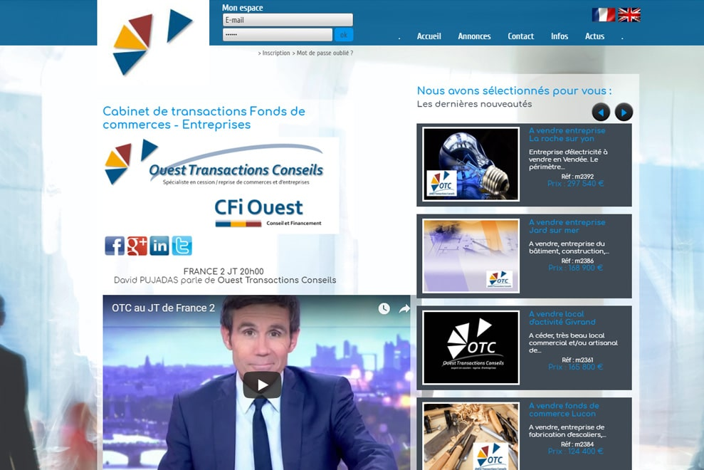 Ouest Transactions Conseils, immobilier commercial