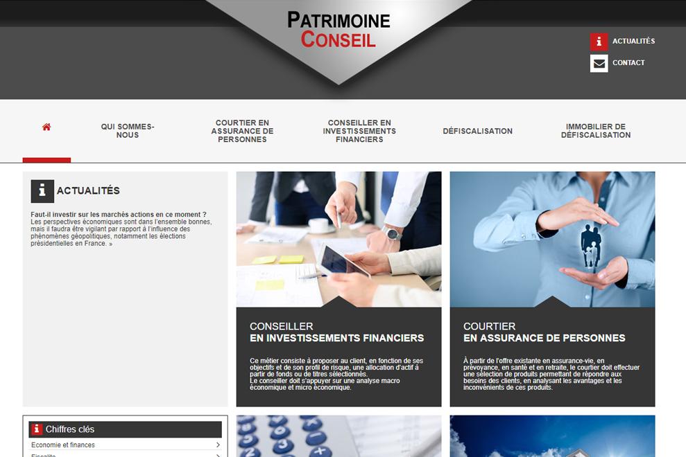 Patrimoine Conseil, gestion de patrimoine