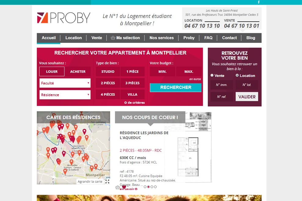 Probytransaction, agence immobilière