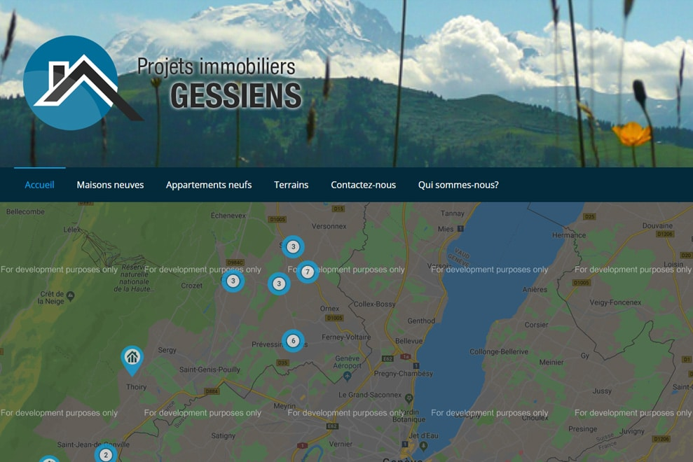 Projets Immobiliers Gessiens, agence immobilière