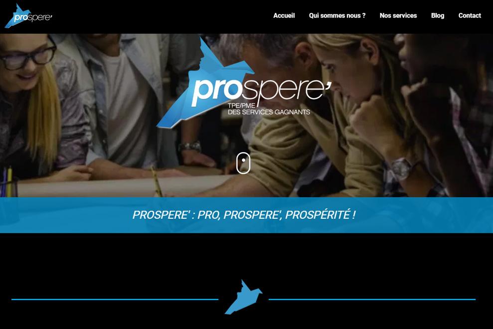 Prospere, management de projet