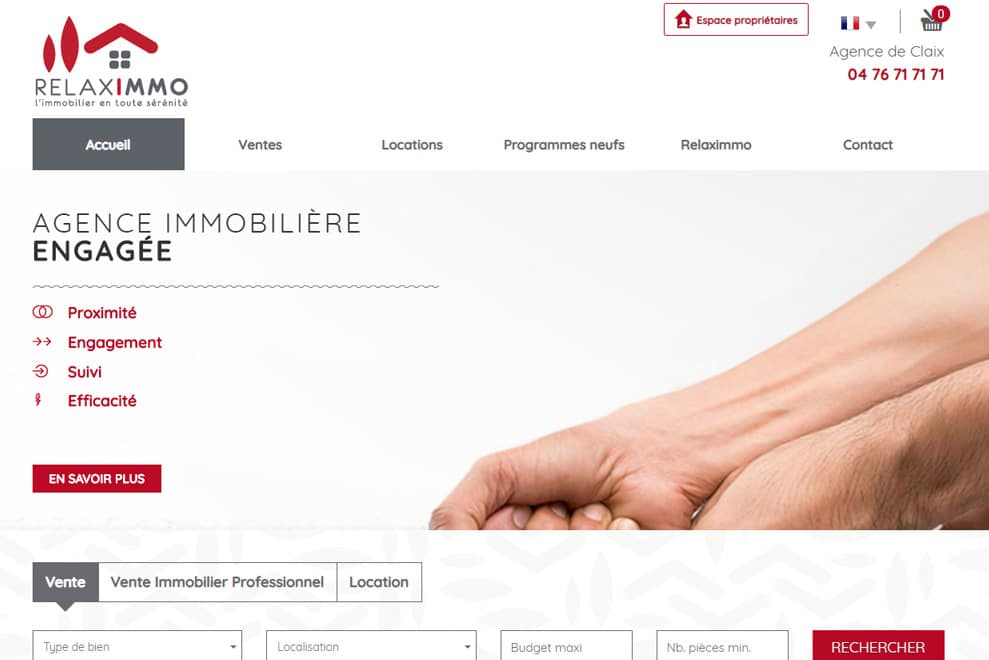 Relaximmo, agence immobilière