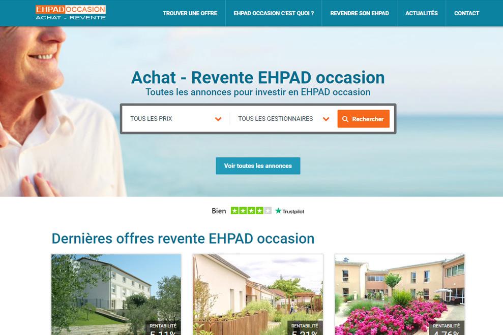 Revente EHPAD Occasion, investissement locatif