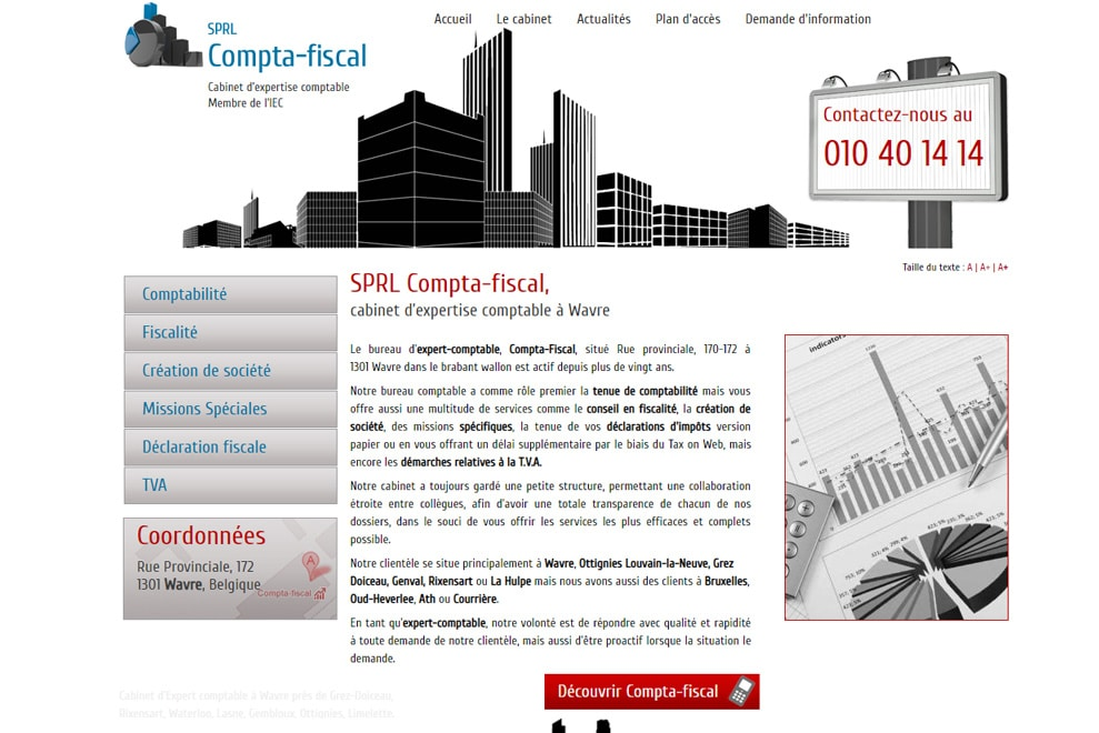 SPRL Compta-fiscal, expert comptable