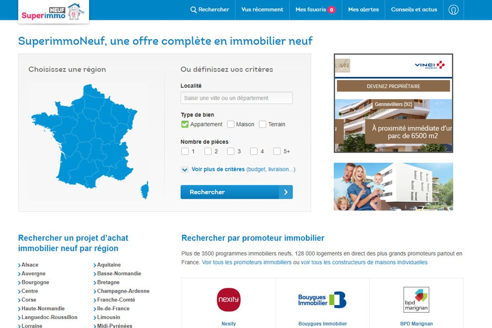 SuperImmo Neuf, investissement immobilier