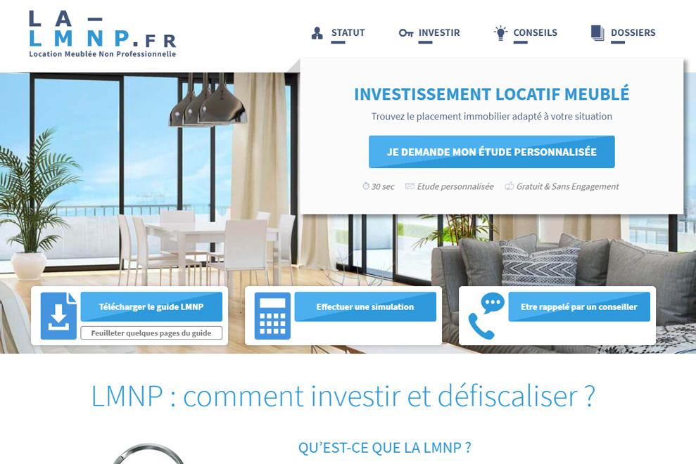 La-LMNP, loueur meublé non professionnel