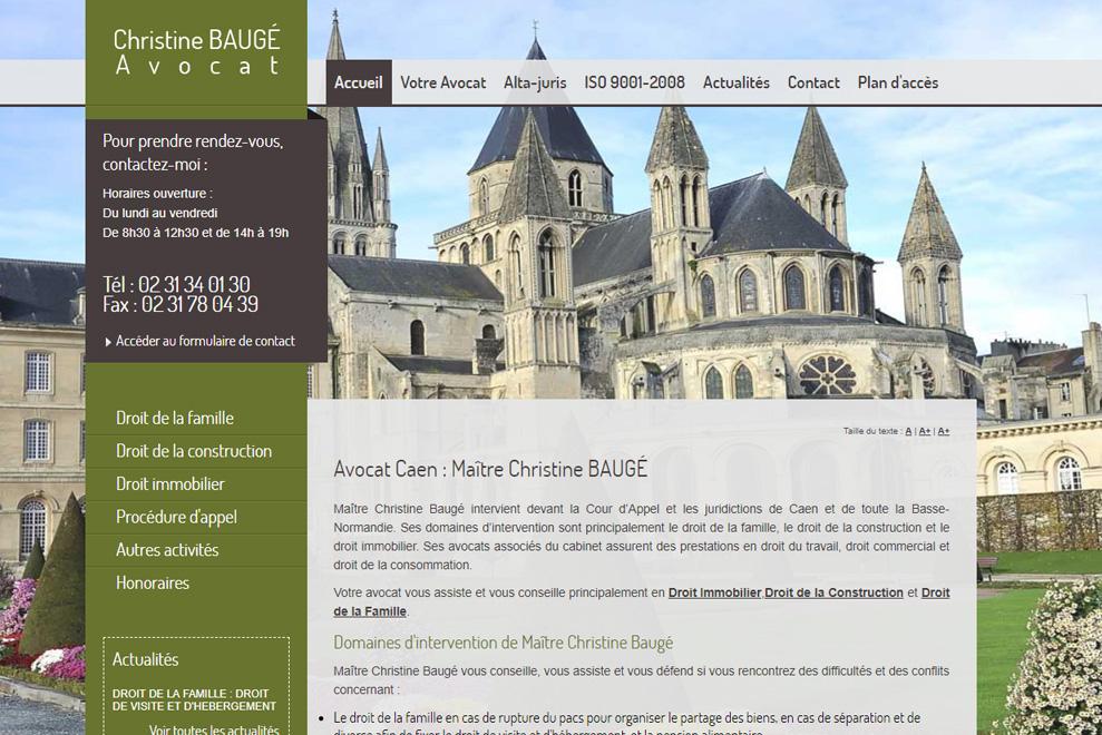 Me Christine Baugé, avocat droit de la famille