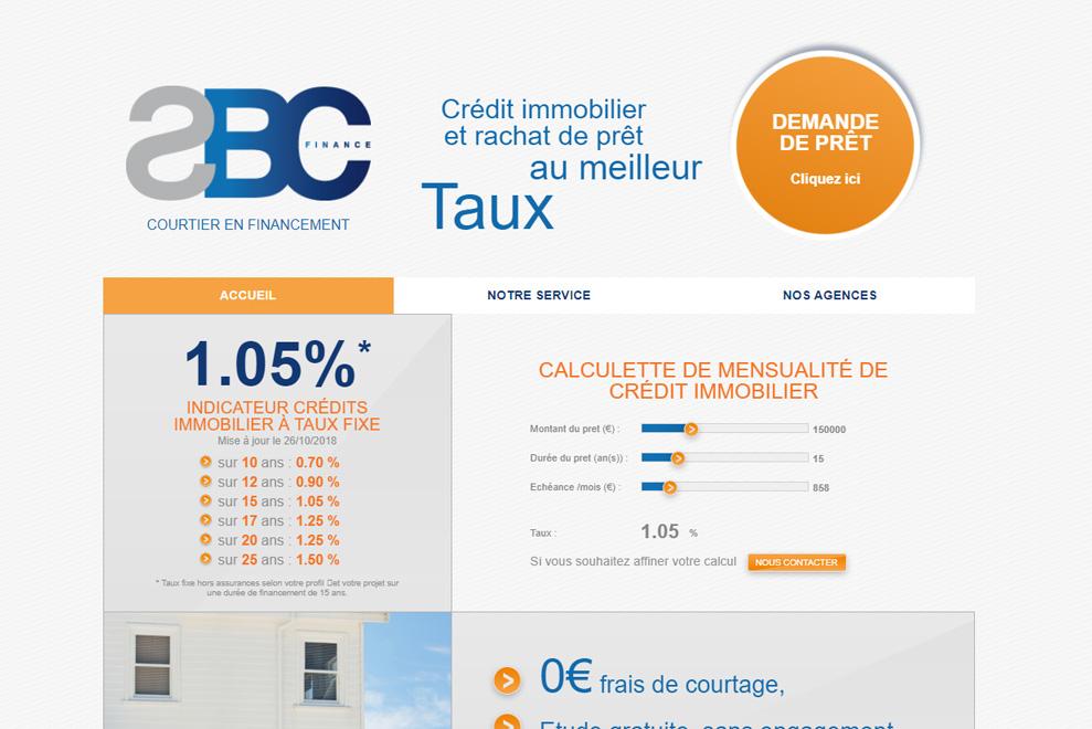 SBC Finance, courtier en prêt immobilier