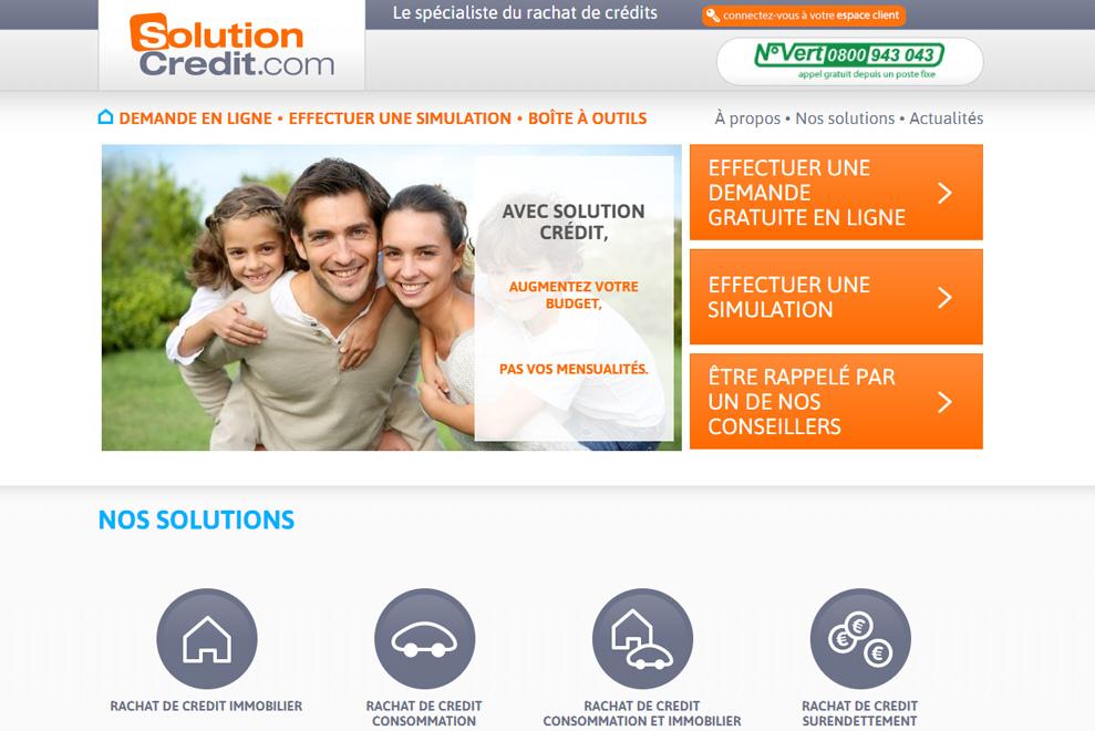 Solution Crédit, rachat de crédit