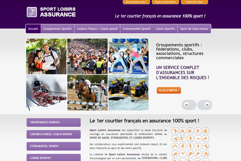 Sport Loisirs Assurance, courtage d'assurance