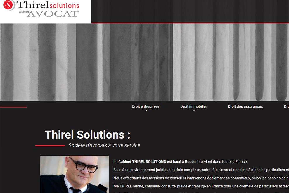 Thirel Solutions, société d'avocats