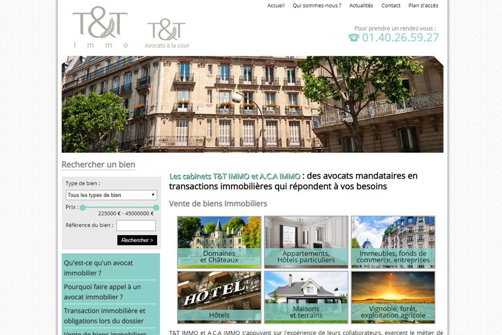 T&T Immo, avocats mandataires en transactions immobilières