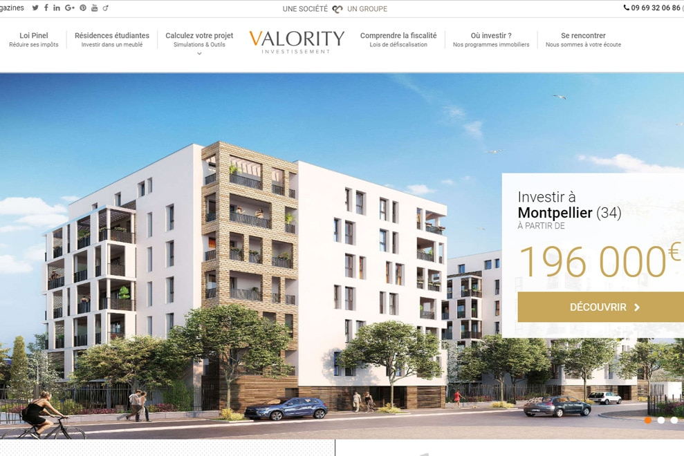 Valority, investissement locatif