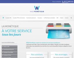 Web monétique, terminal de paiement électronique