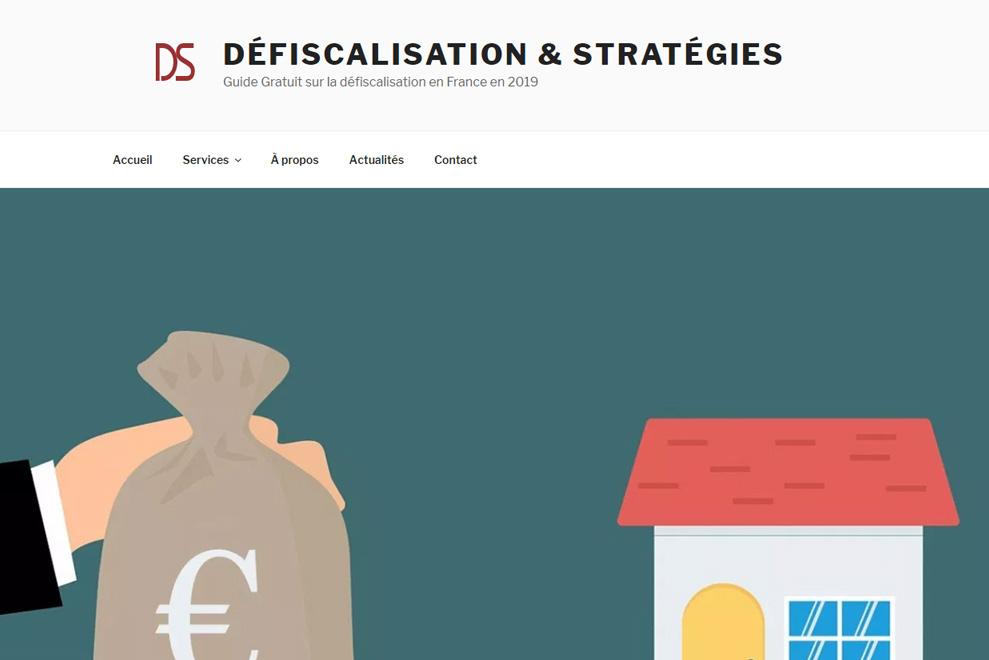 Défiscalisation & Stratégies, conseils en défiscalisation