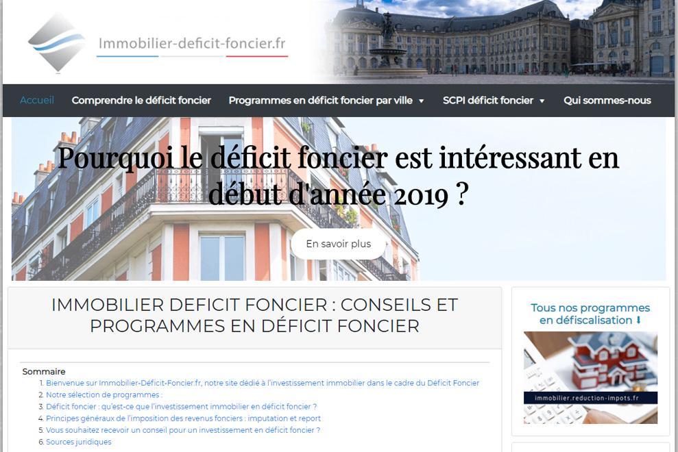 Immobilier-Déficit-Foncier, investir en déficit foncier