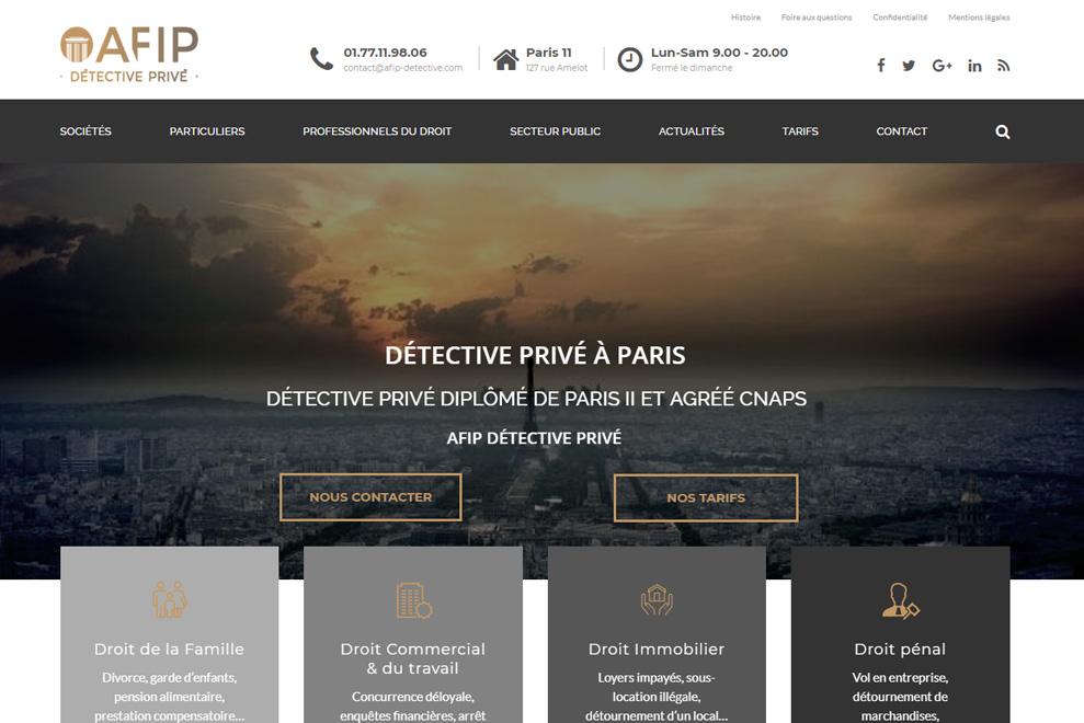 AFIP, détective privé à Paris