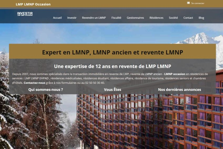 LMNP occcasion montagne