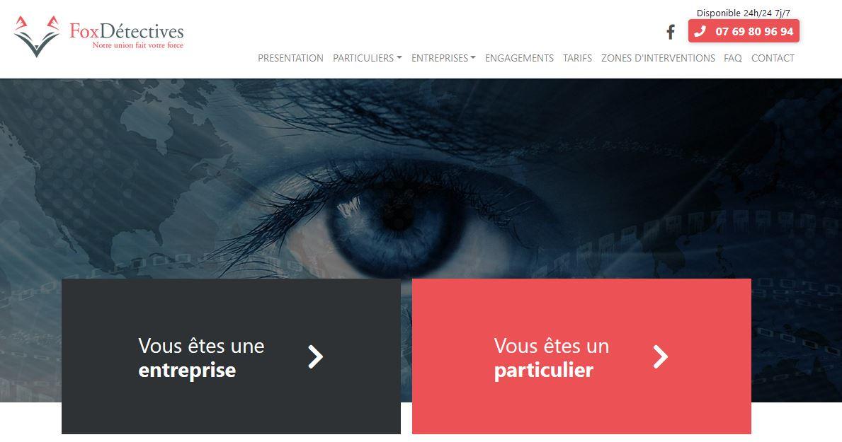 Fox détectives : détective privé à Paris