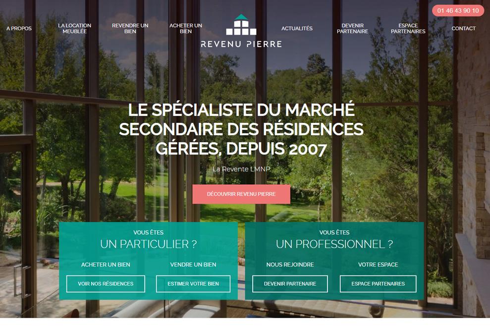 Le Revenu Pierre, marché secondaire des résidences gérées (revente LMNP)