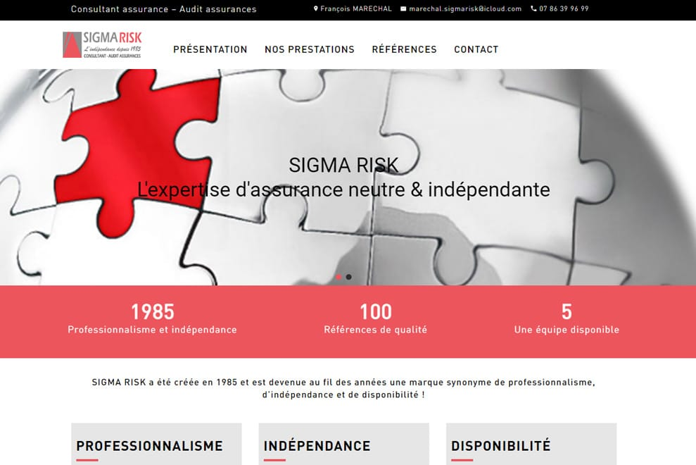 Sigma Risk Consultants, audit et conseil en assurances