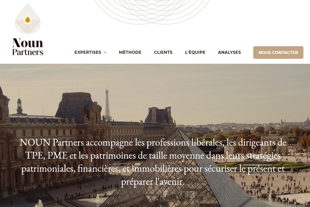 NOUN Partners, conseiller en stratégie patrimoniale, financière et immobilière