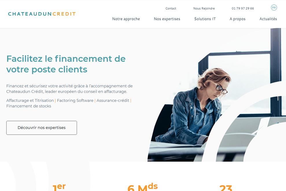 Chateaudun Crédit, courtier en affacturage et assurance-crédit