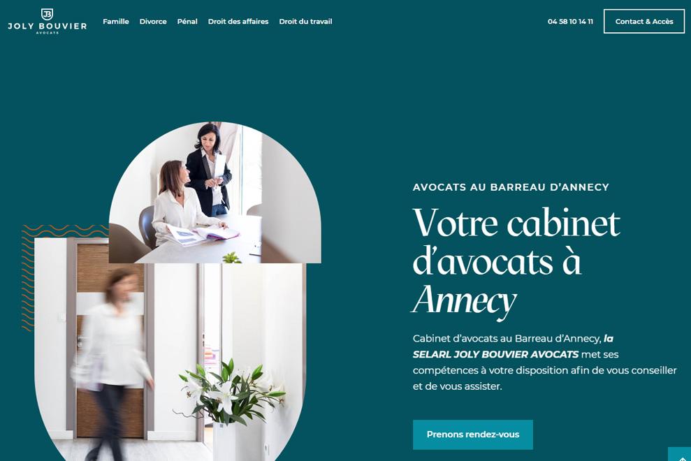 Joly Bouvier Avocats, votre cabinet d'avocats à Annecy