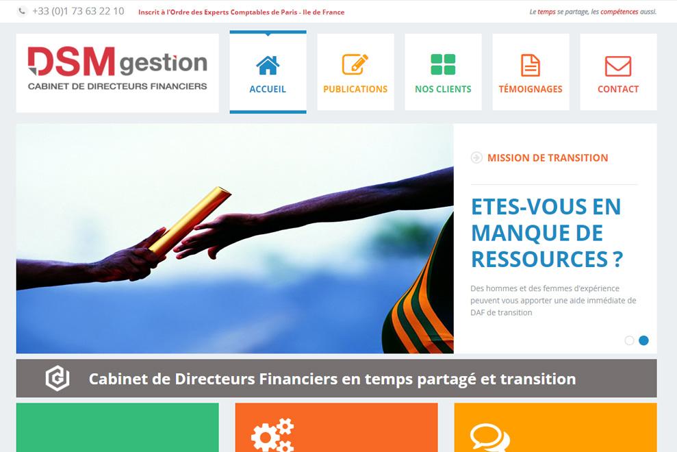 DSM Gestion, cabinet de DAF à temps partagé